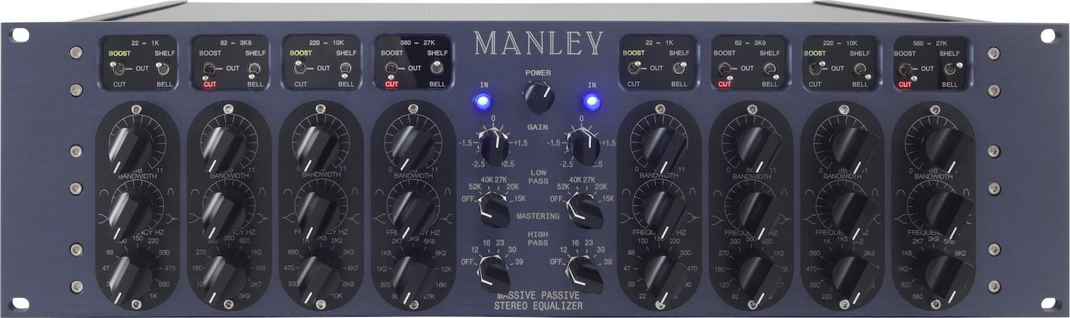 Manley Massive Passive EQ Mastering Version