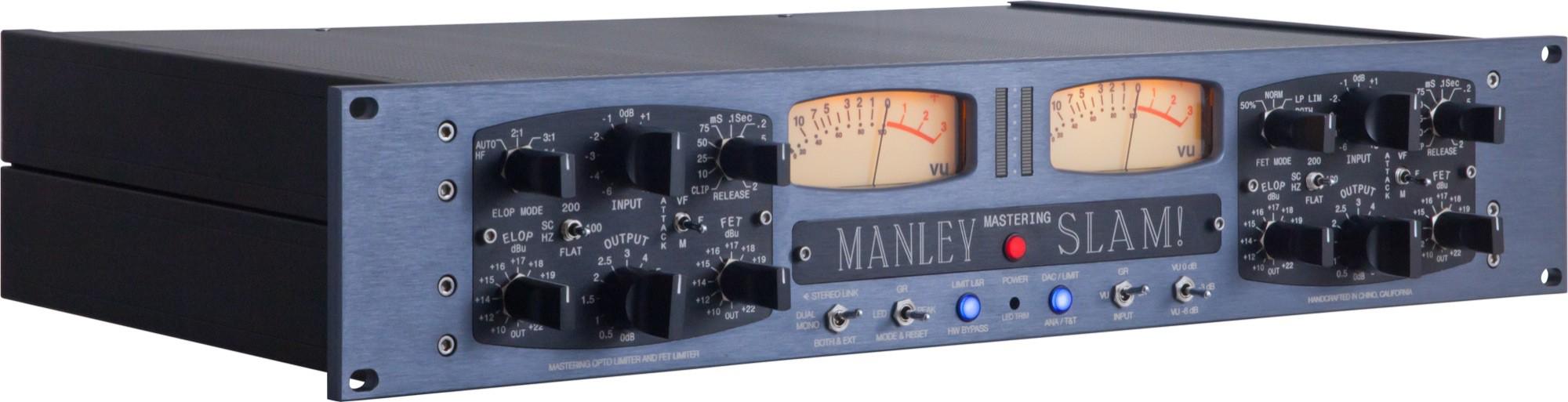 Manley SLAM Mic Preamp Limiter Mastering Version