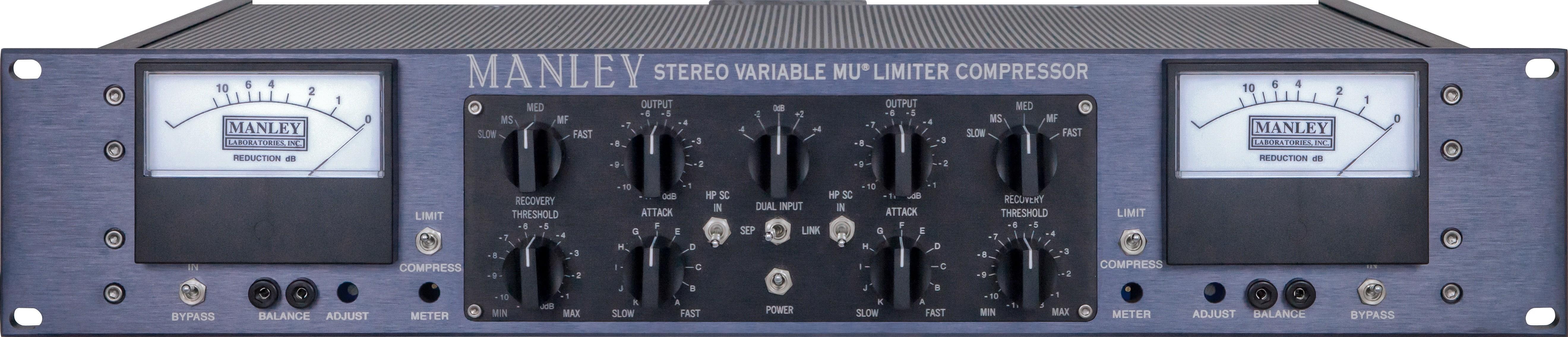 Manley Vari MU Stereo Limiter Mastering Version