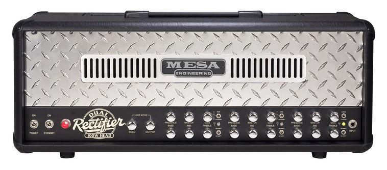 Mesa Boogie Rectifier Dual Head Chrom Plate
