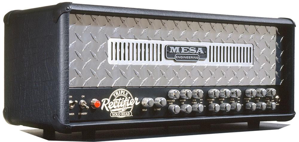 Mesa Boogie Rectifier Triple Head Chrom Plate