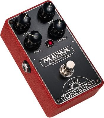 Mesa Boogie Tone Burst Pedal Red
