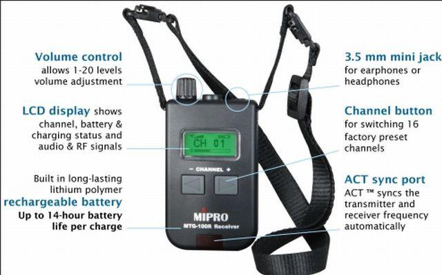 Mipro MTG 100 T Mini Sender