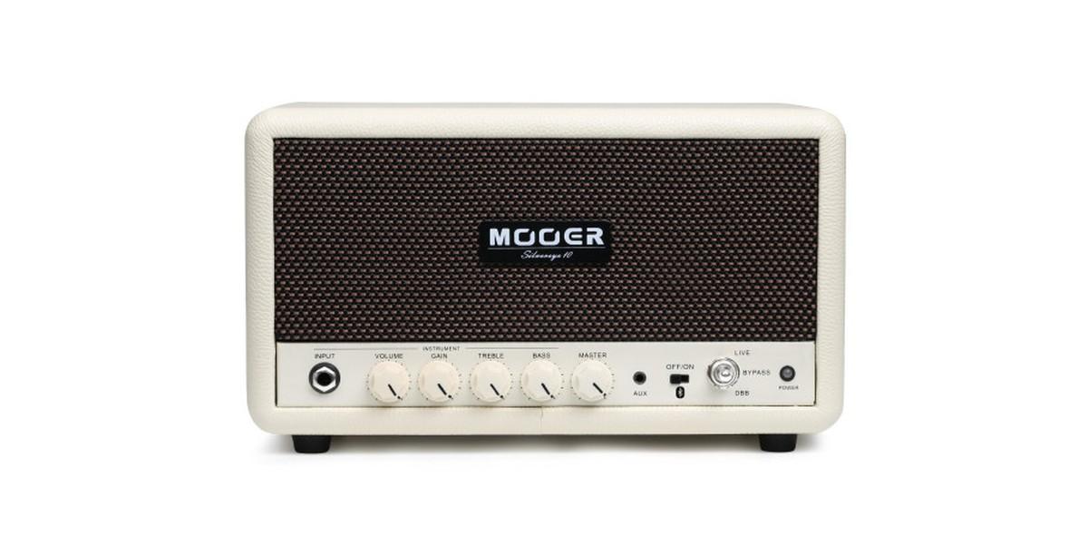 Mooer Silvereye Stereo Hifi   Desktop Instrument