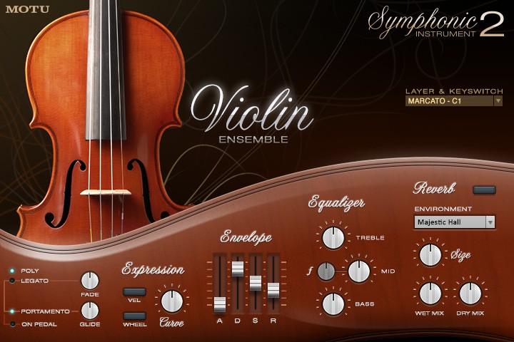 Motu Symphonic Instrument 2
