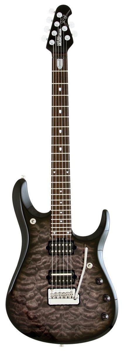 Music Man Petrucci BFR Black Burst
