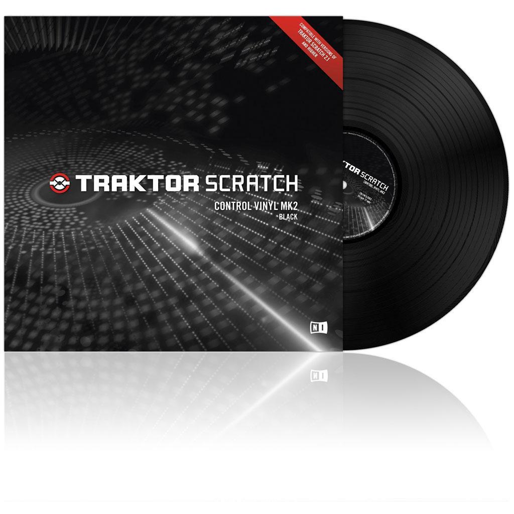 Native Instruments Traktor Scratch Vinyl MKII Black