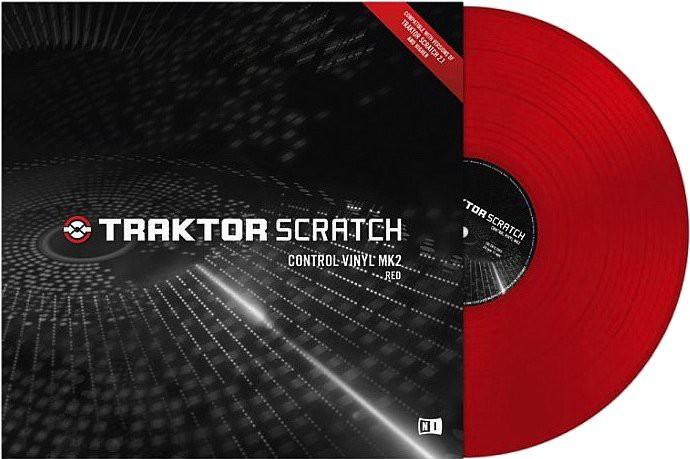 Native Instruments Traktor Scratch Vinyl MKII Red