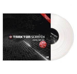 Native Instruments Traktor Scratch Vinyl MKII wht