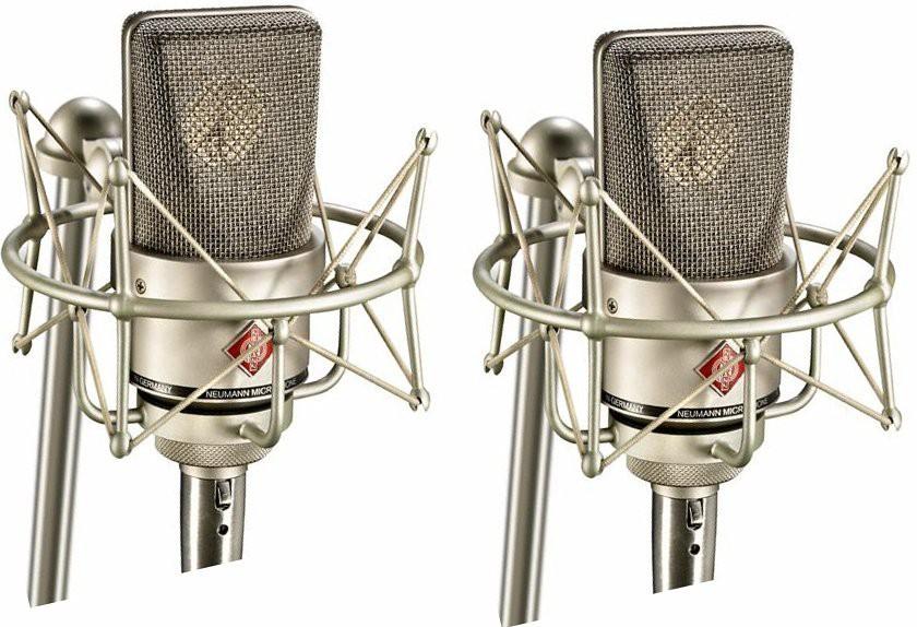 Neumann TLM 103 Stereo Set Nickel