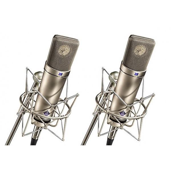 Neumann U 87 Ai Stereo Set Nickel