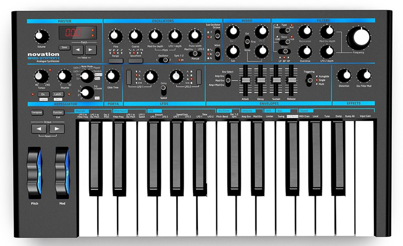 Novation Bass Station II   2