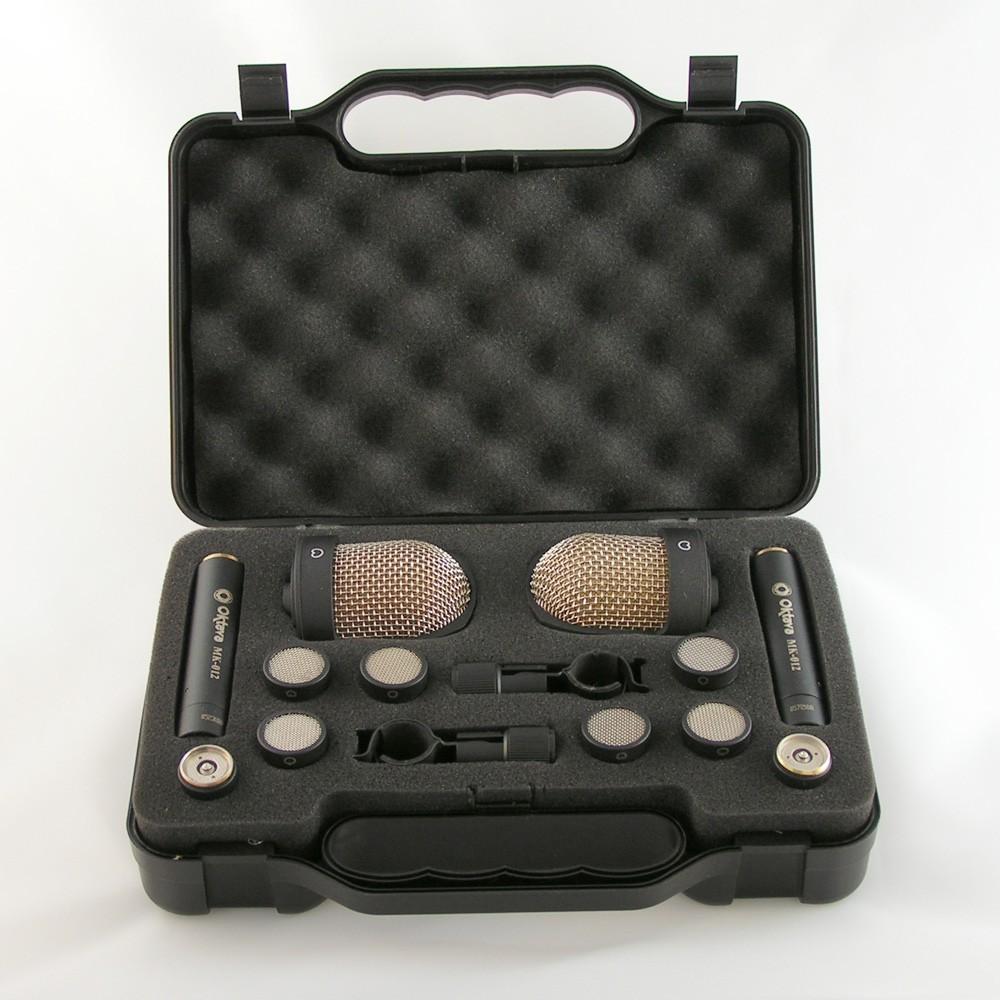Oktava MK 012 10 MSP 8 Stereo Paar Black