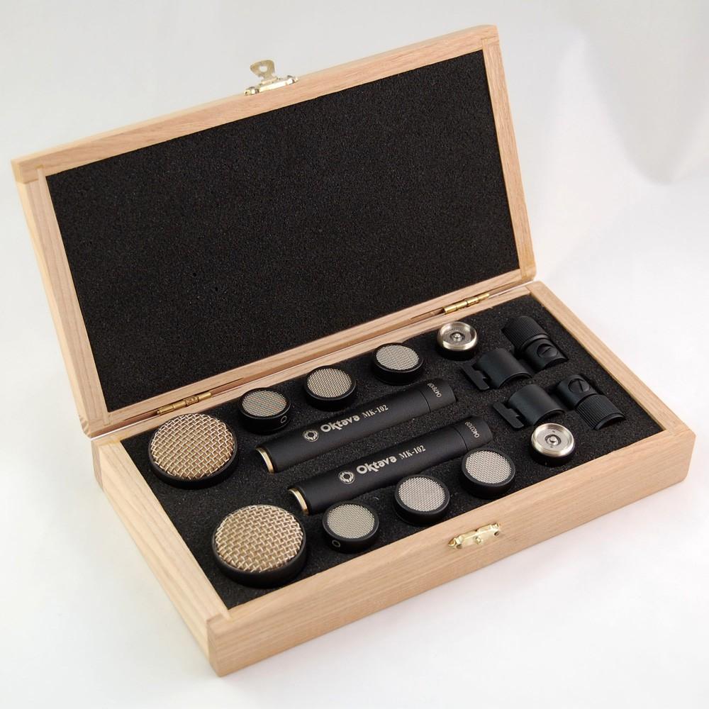 Oktava MK 012 20 MSP 8 Stereo Paar Holzbox Black