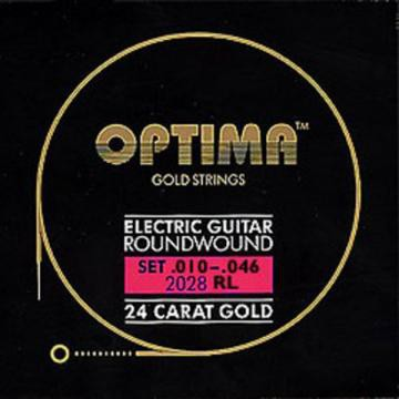 Optima Gold 10 46 El  Roundwound Regular Light