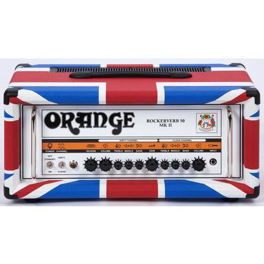 Orange Rockerverb 50H Head MKII Union Flag