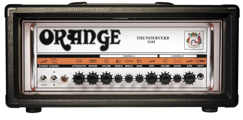 Orange Thunderverb 50H Head BLK Black