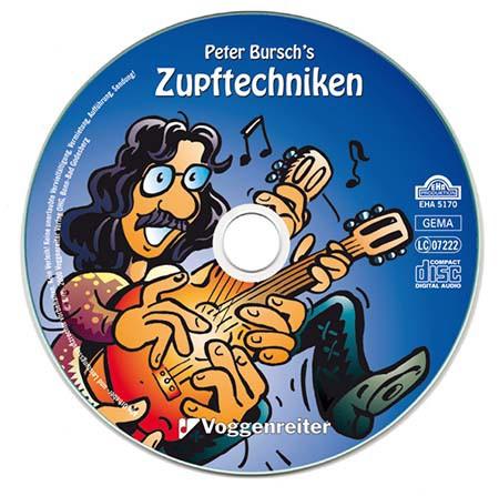 Peter Burschs Zupftechniken f    r Gitarre   CD