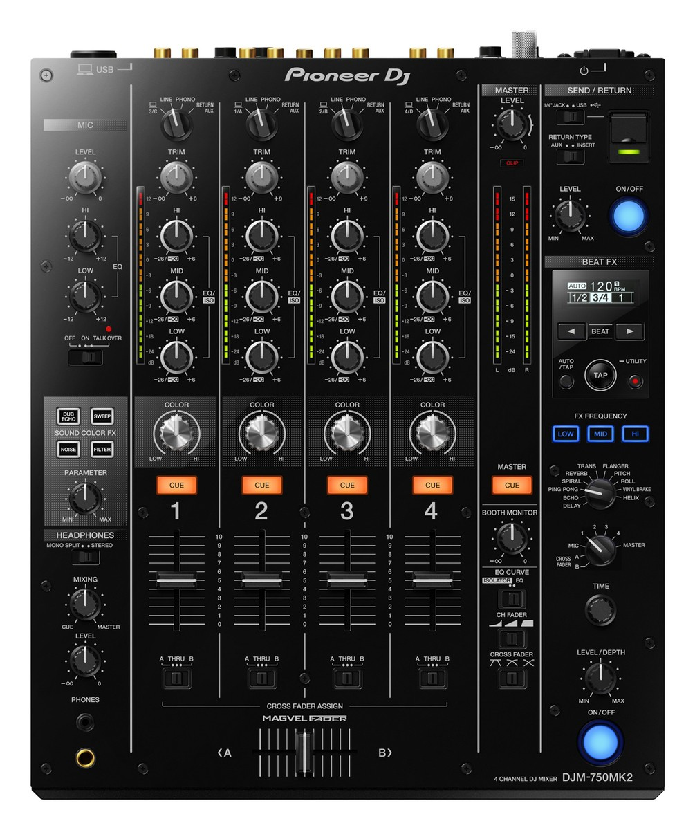 Pioneer DJM 750 K MK2
