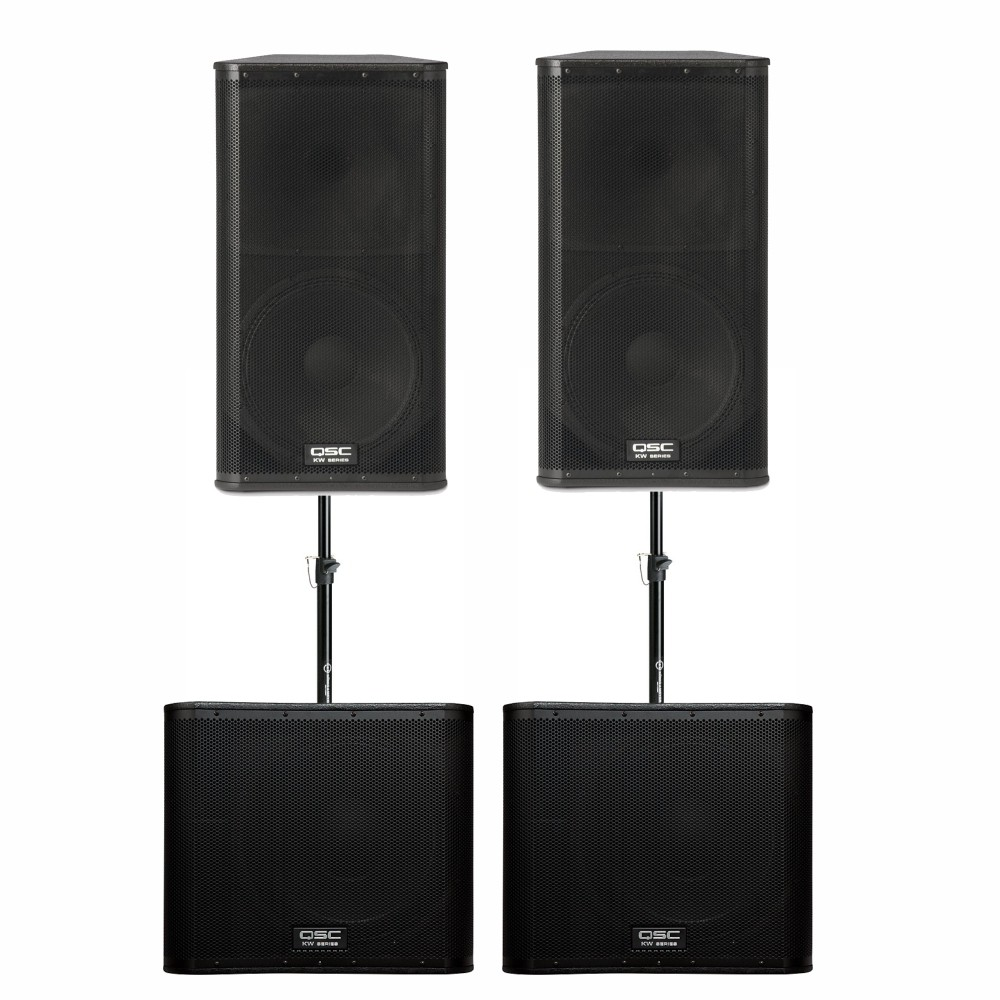 QSC KW Series PA Set Mid Venue