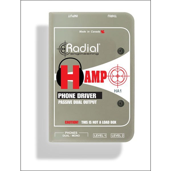 Radial H Amp Passiv Speaker to Headphone