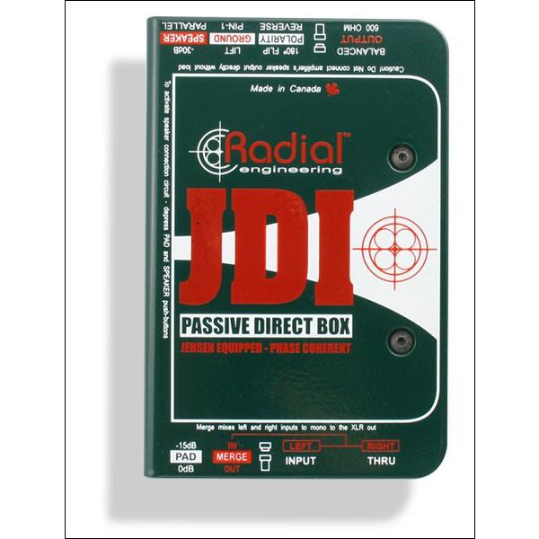 Radial JDI Passiv DI Box