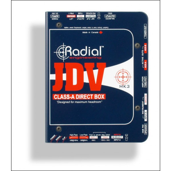 Radial JDV MK3 Active Direct Box