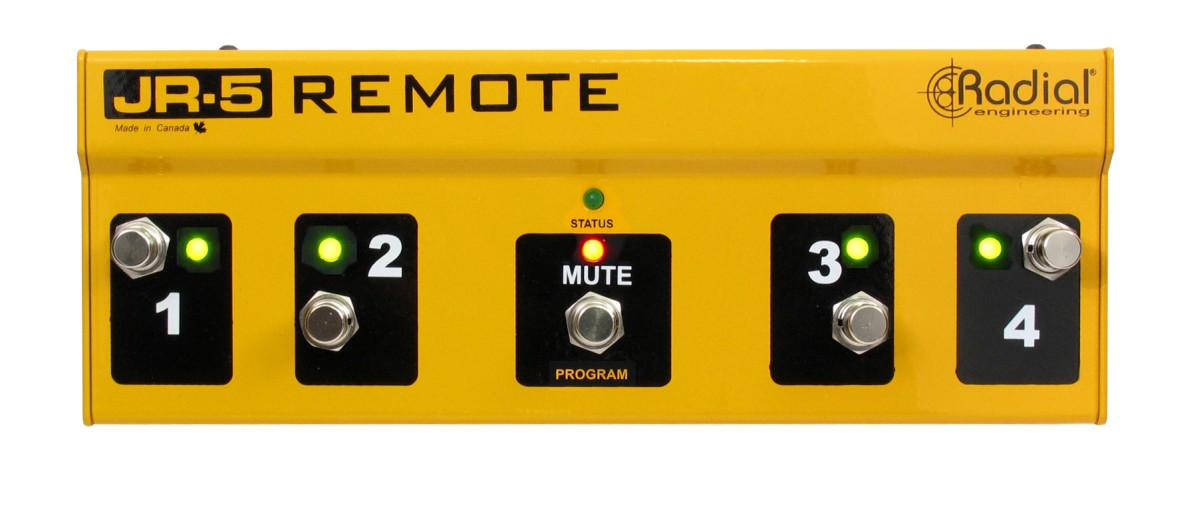 Radial JR 5 Mult Switch Remote