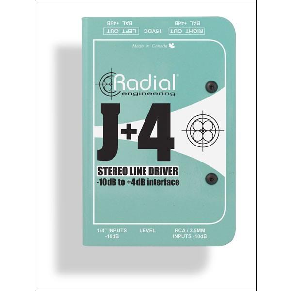 Radial J 4 Stereo Line Driver