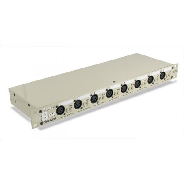 Radial OX 8J Mic Splitter 8 Kanal