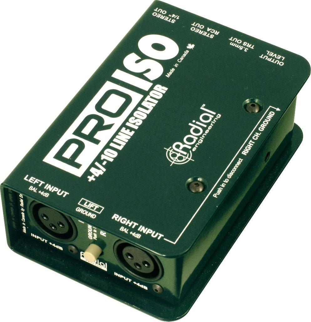 Radial Pro ISO Stereo Signalwandler