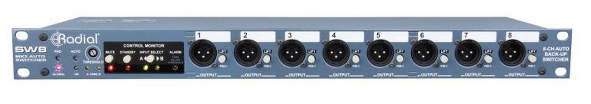 Radial SW 8 v2 Auto Switcher
