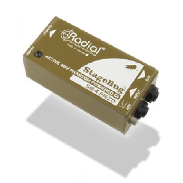 Radial StageBug SB 4 Piezo Orchestral DI Box