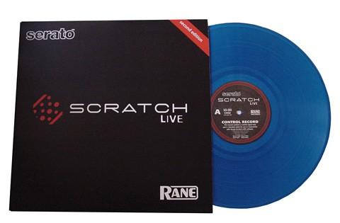 Rane Serato Ersatz Vinyl Blue
