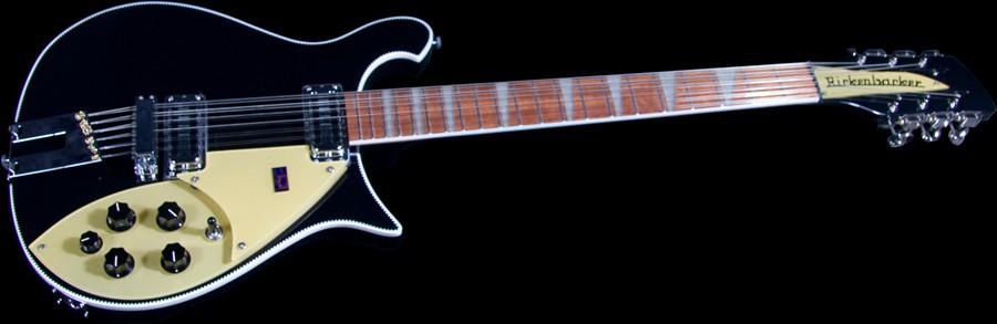 Rickenbacker 660 12 Thinline Jetglo