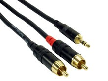 Rock Cable 2x Cinch  Mini Jack RCIN5MPC 5m