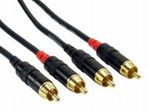 Rock Cable RCC1CC 2x Cinch  2x Cinch Kabel 1m