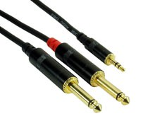 Rock Cable RCIN2MPP 2x Jack  Mini Jack 2m