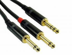 Rock Cable RCIN5PSP Insert Cable 2x Jack   Jack 5m