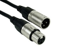 Rock Cable RCM2MXFX XLRm   XLRf 2m