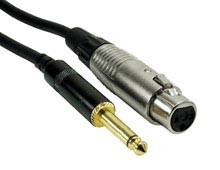 Rock Cable RCST2FXPM Jack mono   XLRf 2m