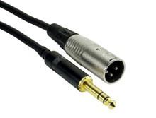 Rock Cable RCST5MXPS XLRm   Jack stereo 5m