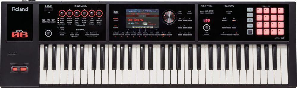Roland FA 06 Music Workstation