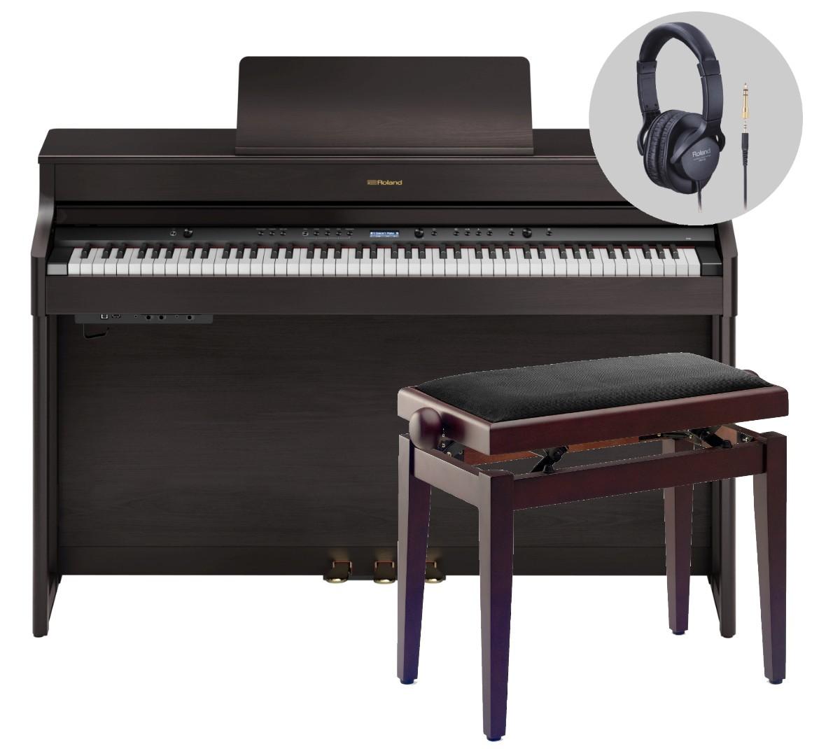 Roland HP 702 DR Dark Rosewood Komplettset  10 Jah