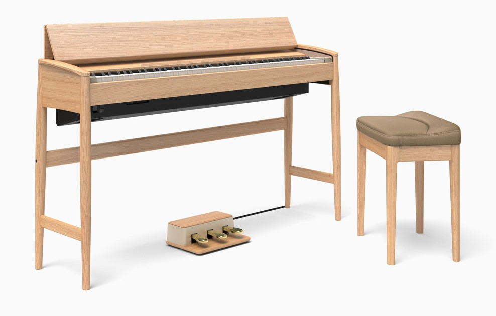 Roland KF 10 KO Kiyola Piano Oak  10 Jahre Garanti