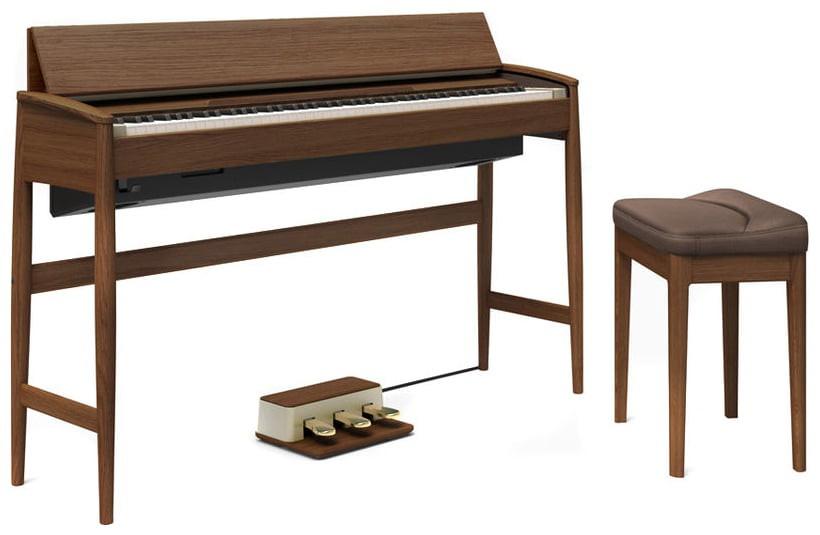 Roland KF 10 KW Kiyola Piano Walnut  10 Jahre Gara