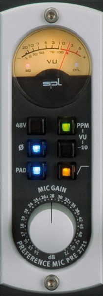 SPL Preference Mic Preamp RPM DEMO