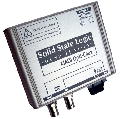 SSL Delta Link MADI OptiCoax