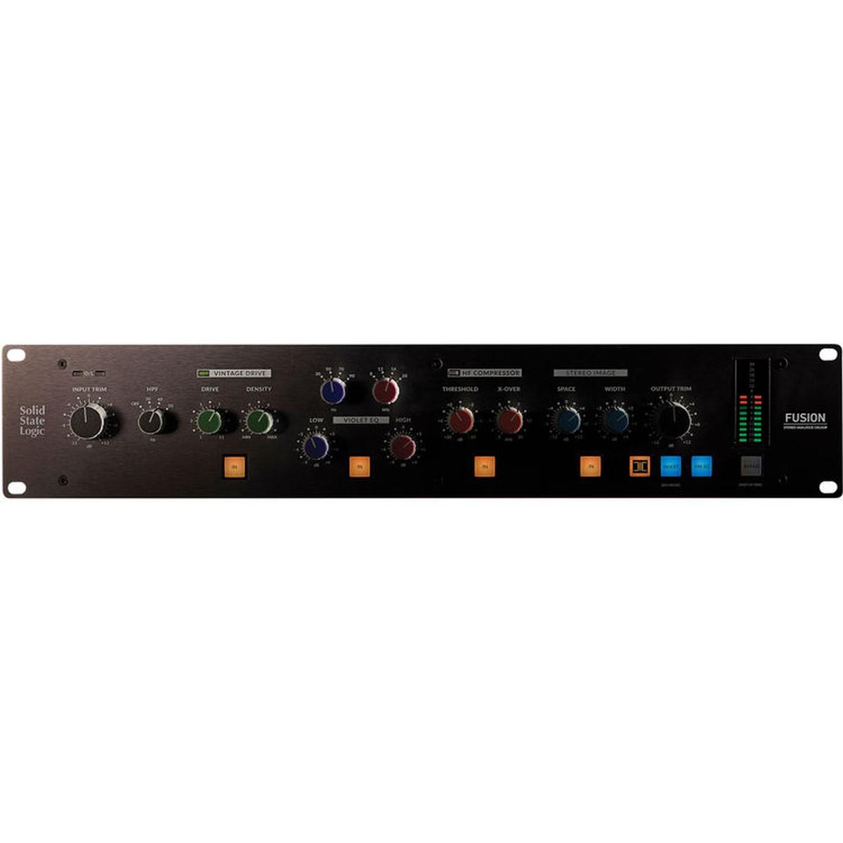 SSL Fusion Analog Stereo Outboard Processor
