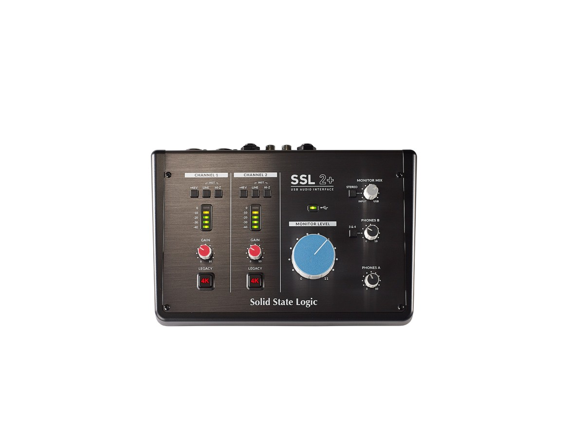 SSL SSL 2  USB Audio Interface   FlexVerb   LMC